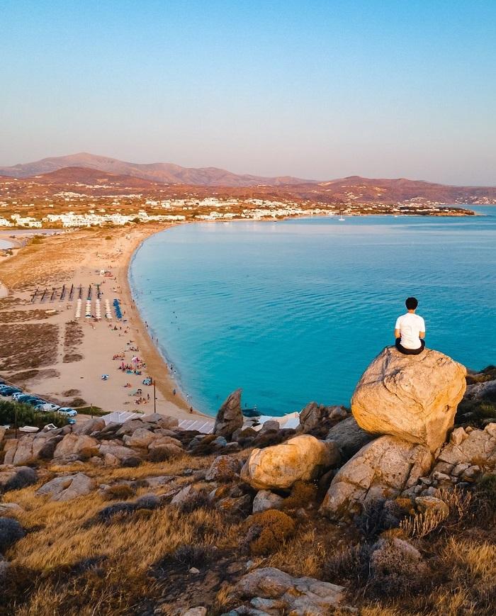 Bãi biển đảo Naxos - Du lịch đảo Naxos Hy Lạp