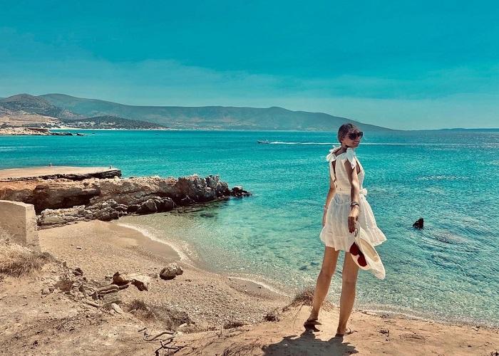 Du lịch đảo Naxos ghé những bãi biển màu ngọc bích và thưởng thức ẩm thực siêu ngon