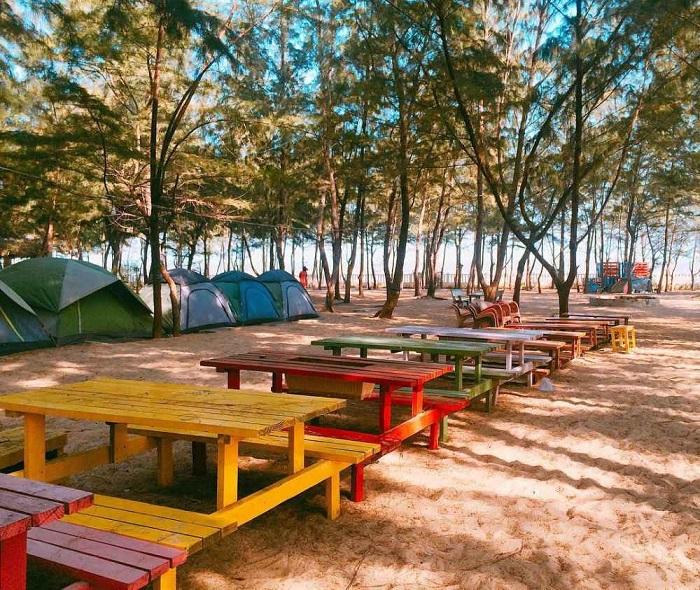 địa điểm cắm trại ở Vũng Tàu - Khu cắm trại Paradise Vũng Tàu