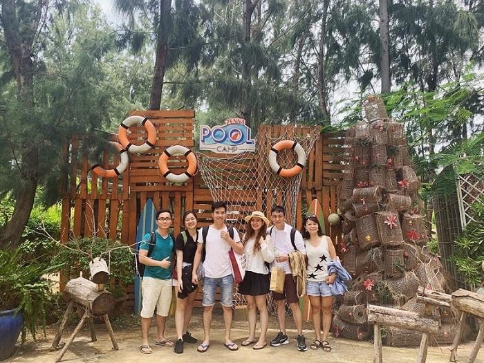địa điểm cắm trại ở Vũng Tàu - Zenna Pool Camp Vũng Tàu