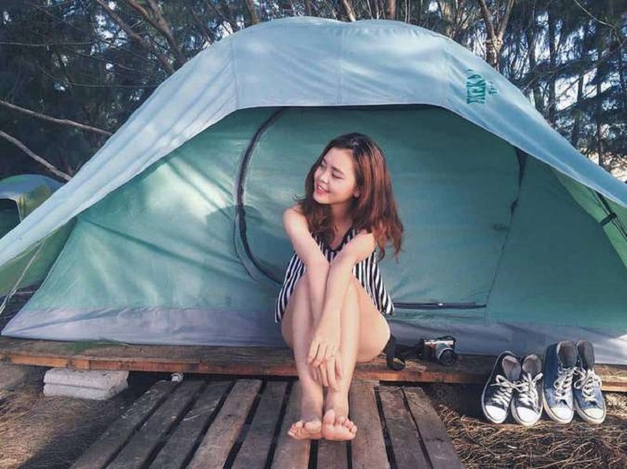 địa điểm cắm trại ở Vũng Tàu - Hồ Cốc