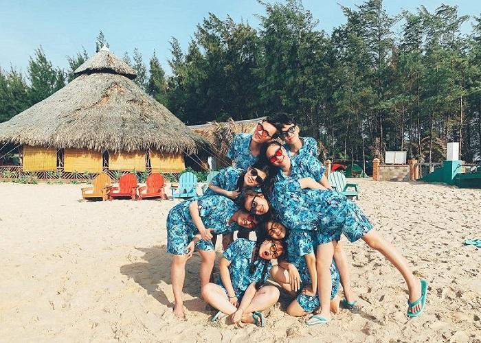 địa điểm cắm trại ở Vũng Tàu - Hồ Tràm sống ảo