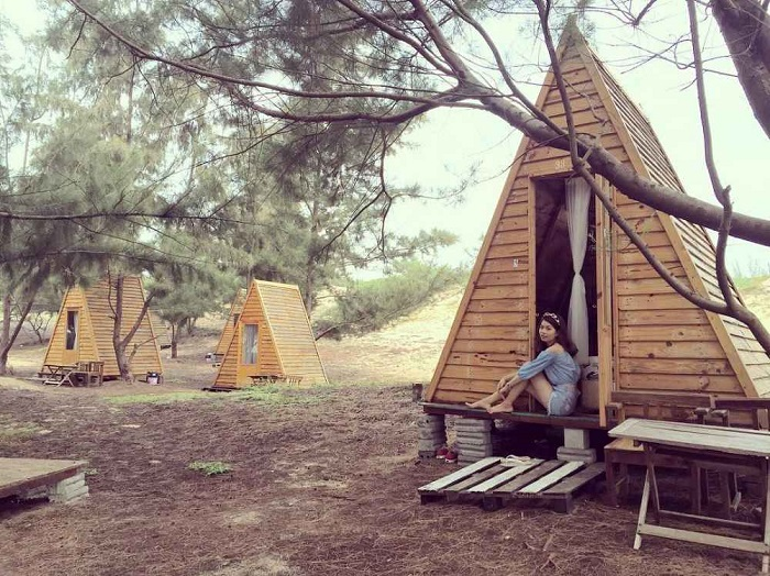 địa điểm cắm trại ở Vũng Tàu - Hồ Tràm