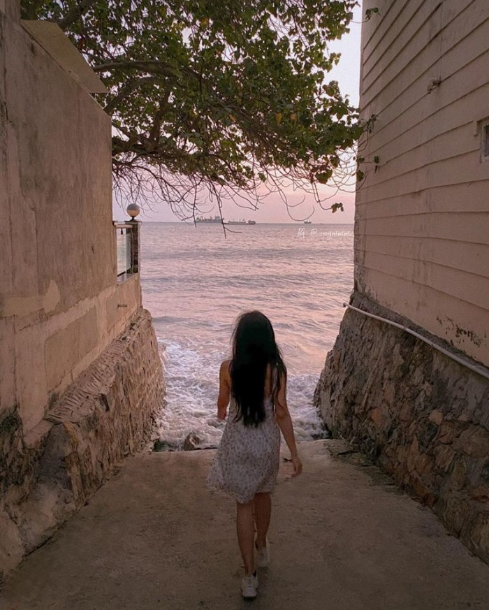 Beautiful check-in places in Vung Tau - the alley