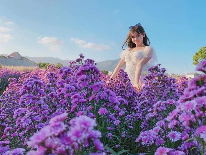 Những địa điểm check-in đẹp ở Vũng Tàu - vườn hoa Sumo