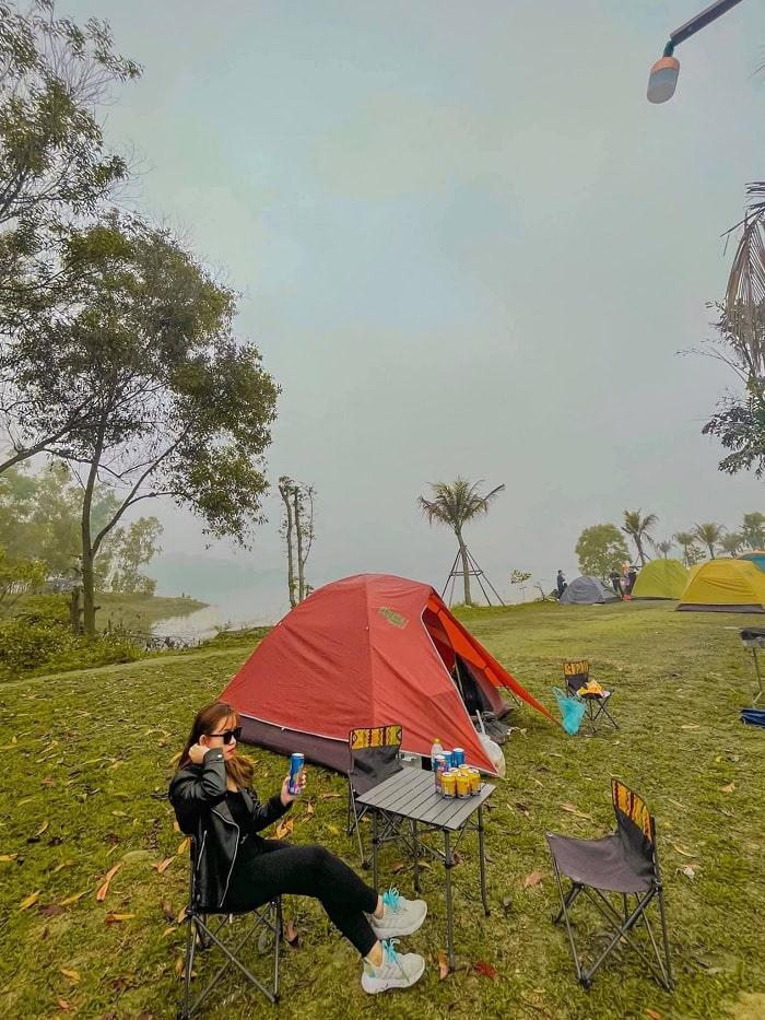 khu du lịch Đồng Mô - 1 trong 5 địa điểm picnic ở Hà Nội đáng đến