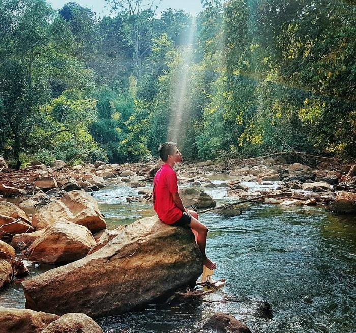 du lịch Bù Đăng Bình Phước - Thác Bù Xa