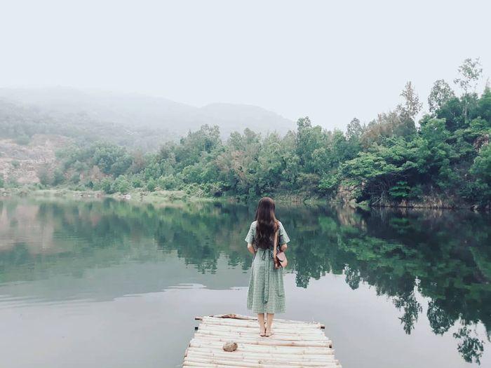 Di chuyển đến hồ Xanh Đà Nẵng