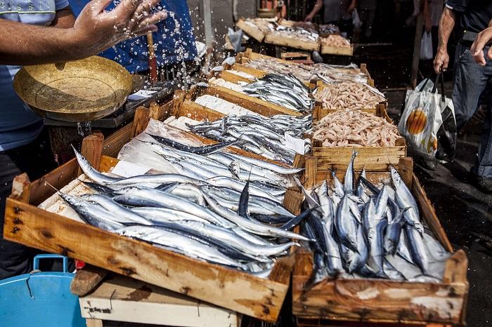 Chợ cá Catania -  Du lịch Catania