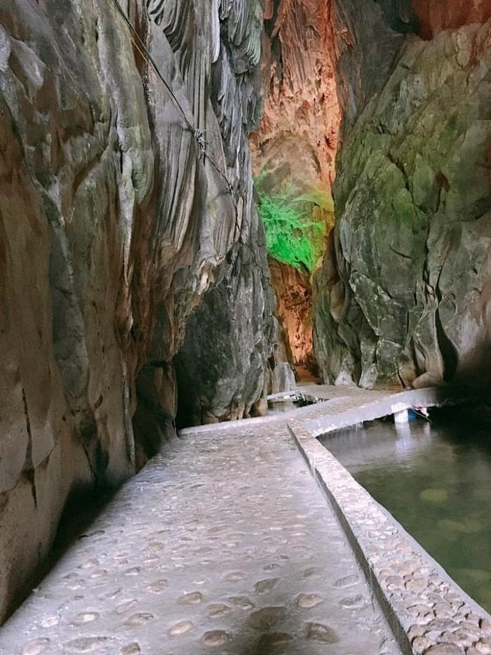 Keng Tao cave, Mo Ma stream tourist area