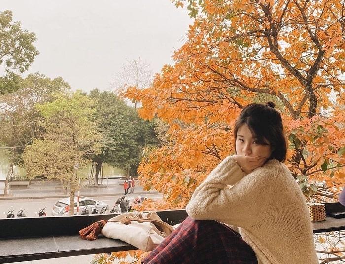 hồ Gươm - điểm ngắm mùa thu Hà Nội lãng mạn như phim
