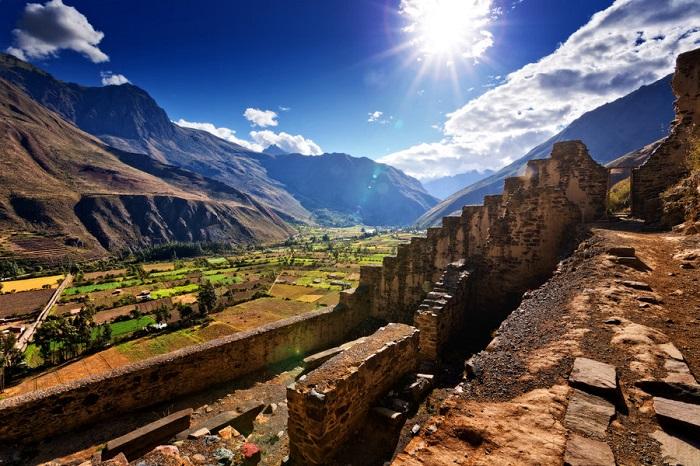 Thung lũng thiêng Peru - Tàn tích từ thời Inca