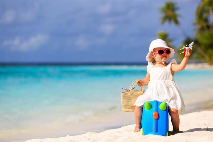 Có nên cho trẻ đi du lịch hay không - Khám phá thế giới
