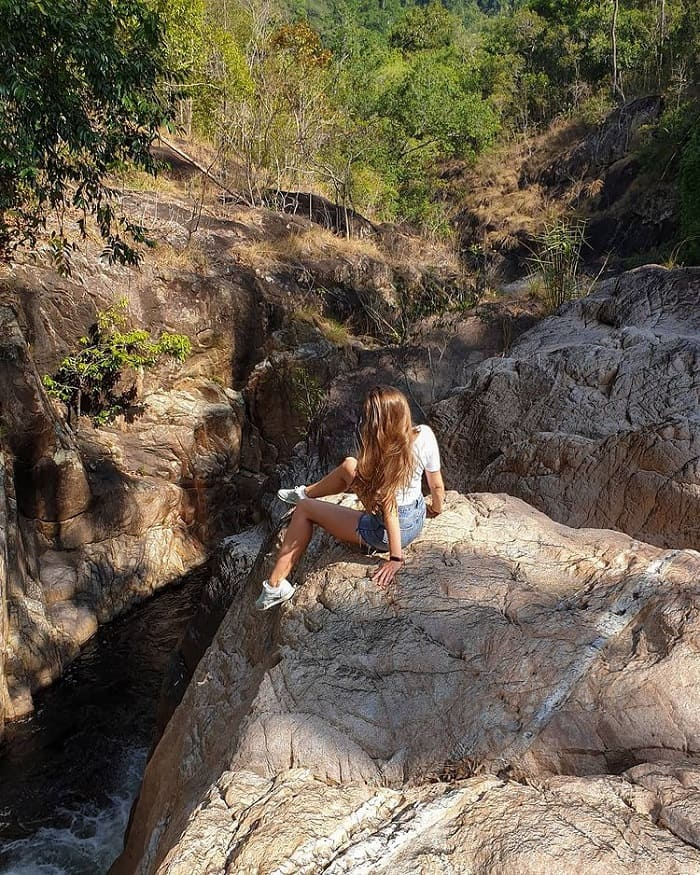 Ta Gu Waterfall Khanh Hoa