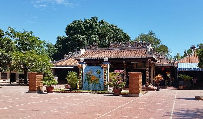 Kiến trúc ở Dinh Thầy Thím Bình Thuận