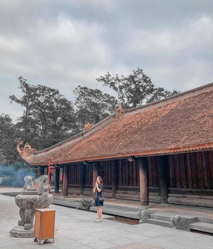 chính điện - công trình nổi bật tại khu di tích Lam Kinh