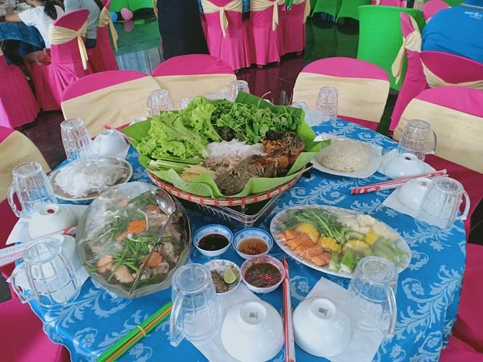khu du lịch Đảo Yến Sơn Hà - ẩm thực