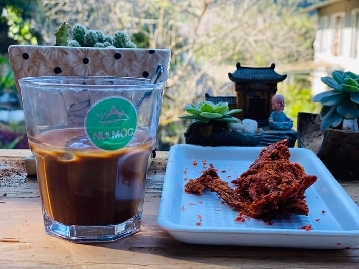 Cafe khu du lịch núi Mộc