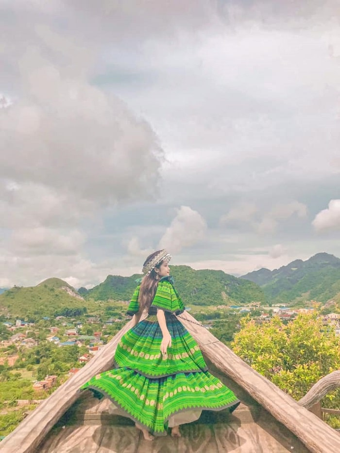 thuyền mây khu du lịch núi Mộc