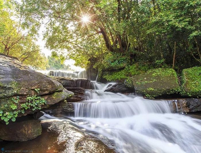 Eco-tourism area in Phu Quoc - Da Ngon stream
