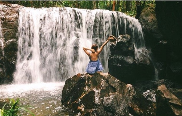 Eco-tourism area in Phu Quoc - Da Ban stream to relax
