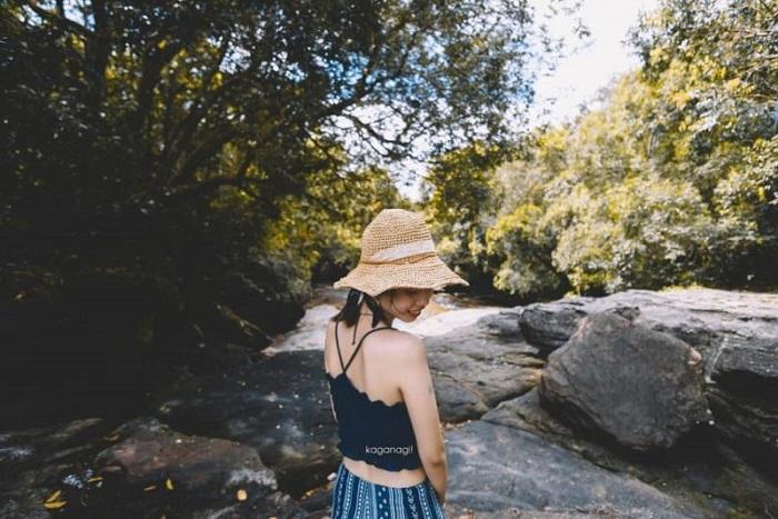 Eco-tourism area in Phu Quoc - Da Ban stream