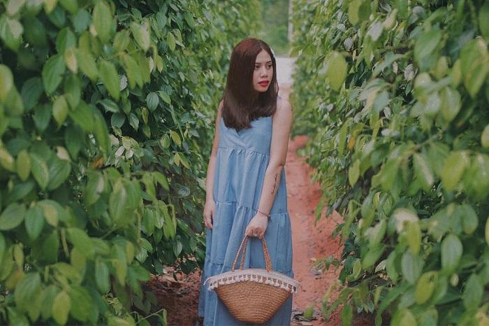 Eco-tourism area in Phu Quoc - virtual pepper garden