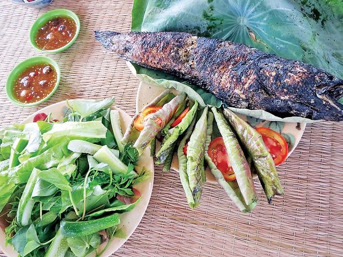 khu du lịch sinh thái Phú Hữu Cần Thơ - ăn uống