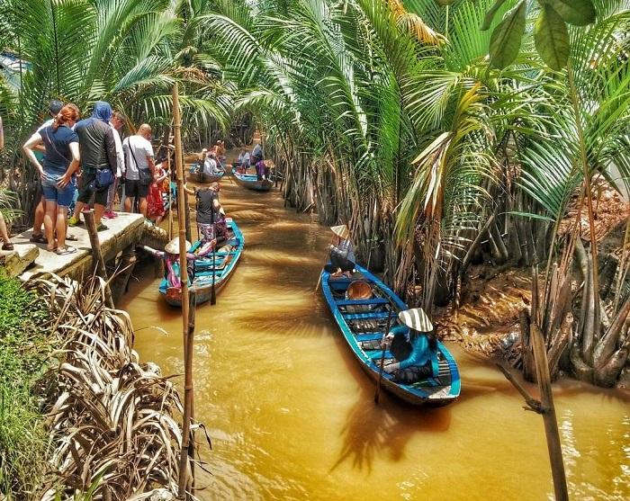 khu du lịch sinh thái Phú Hữu Cần Thơ- miệt vườn
