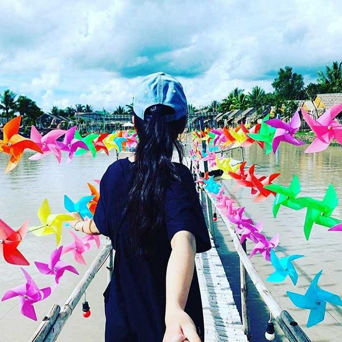 khu du lịch sinh thái Phú Hữu Cần Thơ - sống ảo