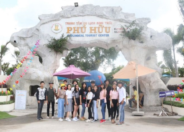 khu du lịch sinh thái Phú Hữu Cần Thơ- ở đâu