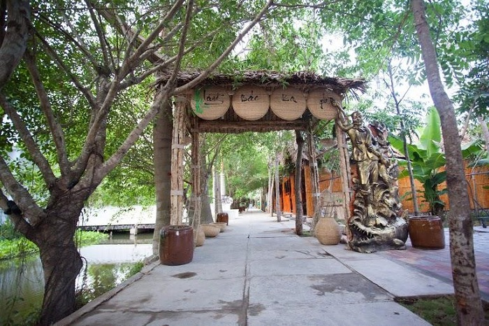 Ca Mau international eco-tourism area - where?