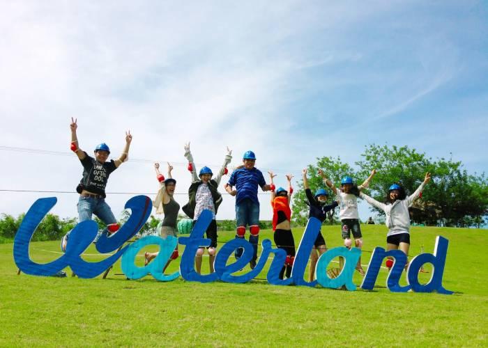 Trải nghiệm vui chơi 'cực đã' tại Khu du lịch Waterland Suối Thạch Lâm Khánh Hòa