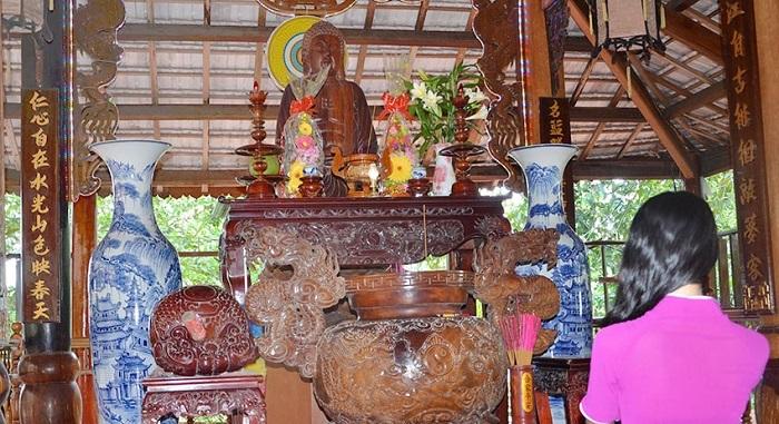 Spiritual area in Nhan Tam eco-area