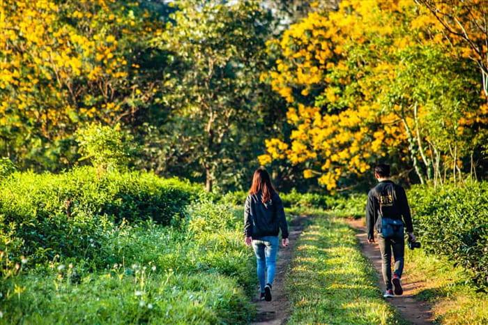 Tháng 10 nên du lịch ở đâu đẹp - Khung cảnh lãng mạn