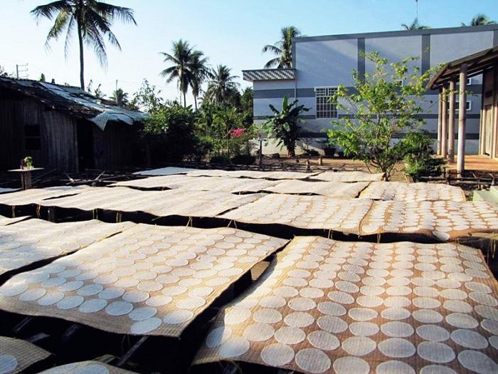 làng đan lọp Thới Long Cần Thơ- làng nghề làm bánh tráng