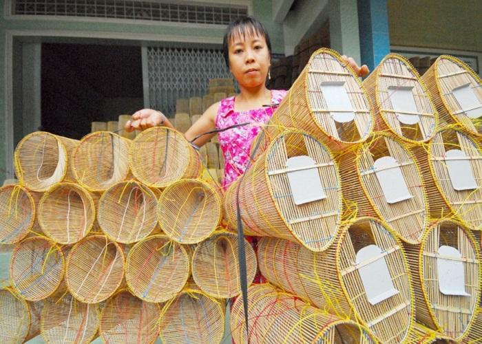 làng đan lọp Thới Long Cần Thơ- làng truyền thống
