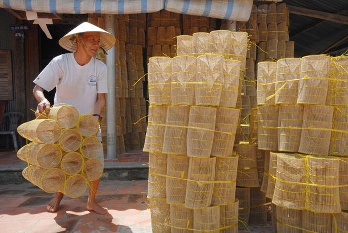 làng đan lọp Thới Long Cần Thơ- làng truyền thống ở Cần Thơ