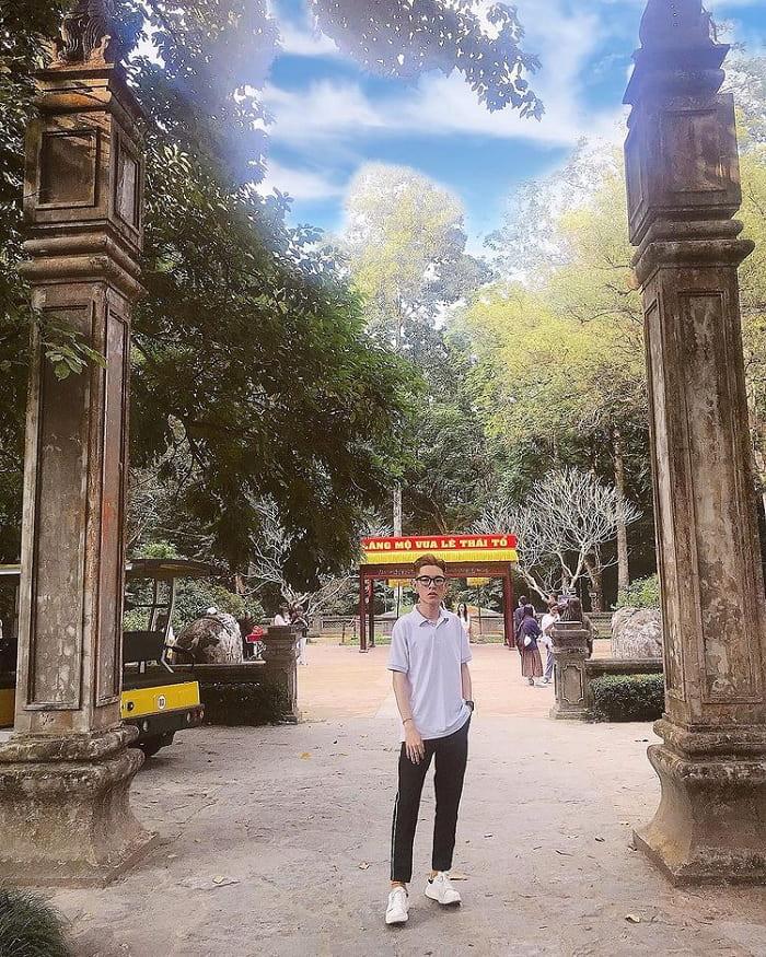 Vĩnh Lăng - công trình ấn tượng tại khu di tích Lam Kinh