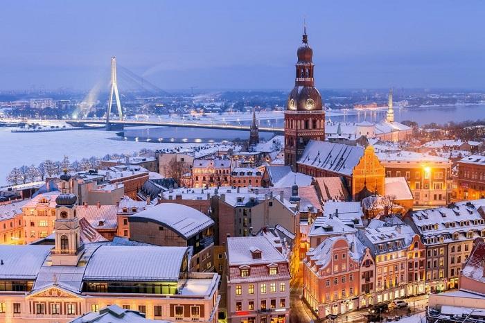 Riga -thủ đô của Latvia - Kinh nghiệm du lịch Latvia