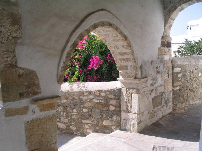 Tham quan lâu đài Naxos -  Du lịch đảo Naxos Hy Lạp