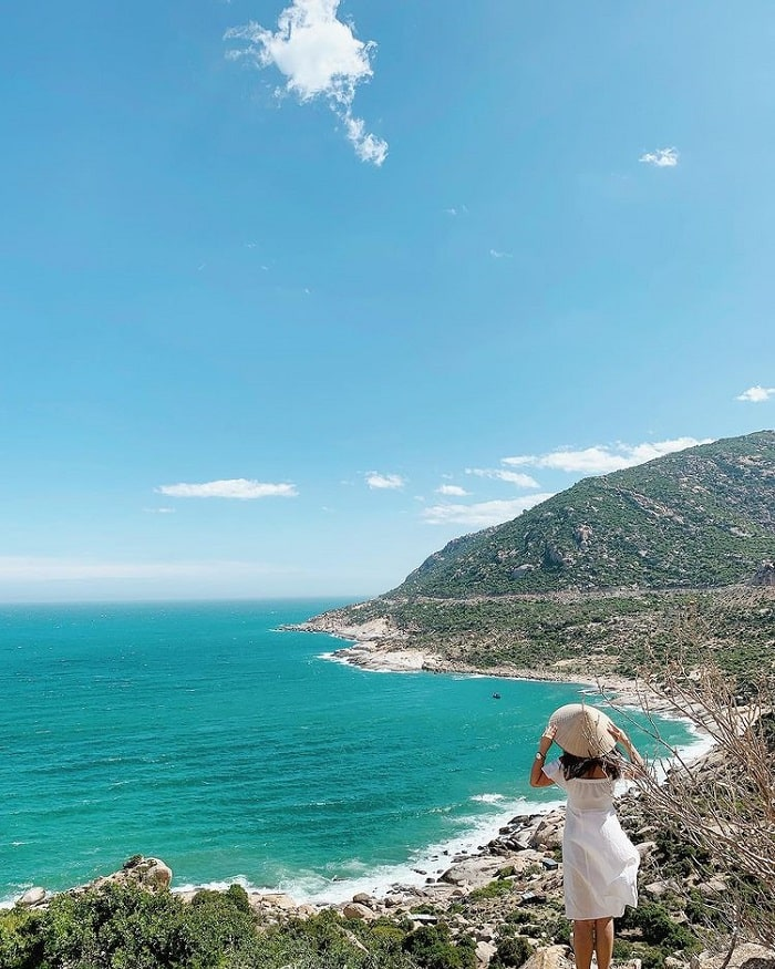 Mui Dinh - one of the beautiful beaches in Ninh Thuan