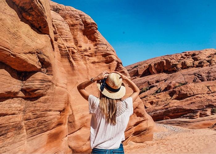 Thung lũng Lửa Nevada - nơi có cảnh quan sa mạc đẹp nhất nước Mỹ