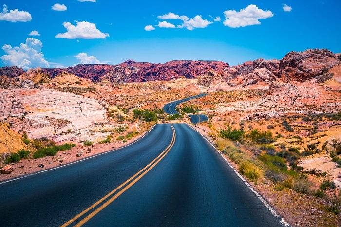 Đường dẫn tới Thung lũng Lửa Nevada - Thung lũng Lửa Nevada