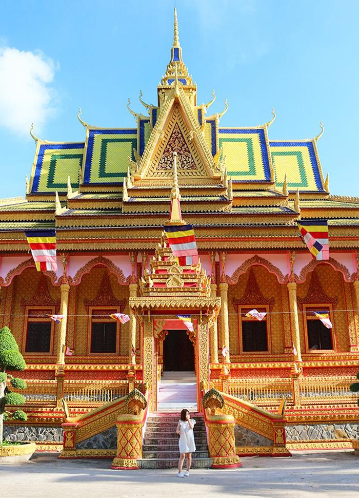 Check in chùa Pisesaram - tuổi đời hơn 500 năm