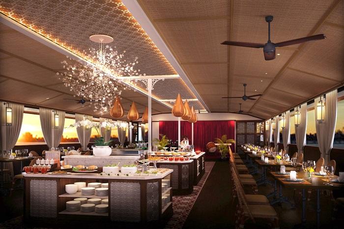Những nhà hàng view sông ở Sài Gòn nổi tiếng - Bonsai Cruise thực đơn