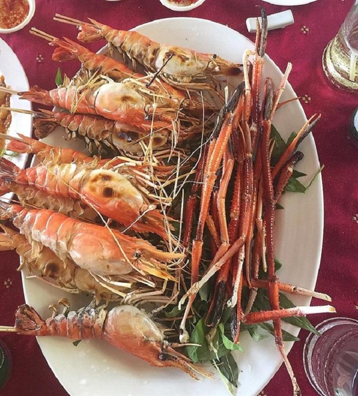 Những nhà hàng view sông ở Sài Gòn nổi tiếng - Nhà hàng ẩm thực sinh thái Tháp Ngà thực đơn