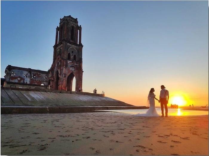 biển Xương Điền - bãi biển đẹp ở Nam Định