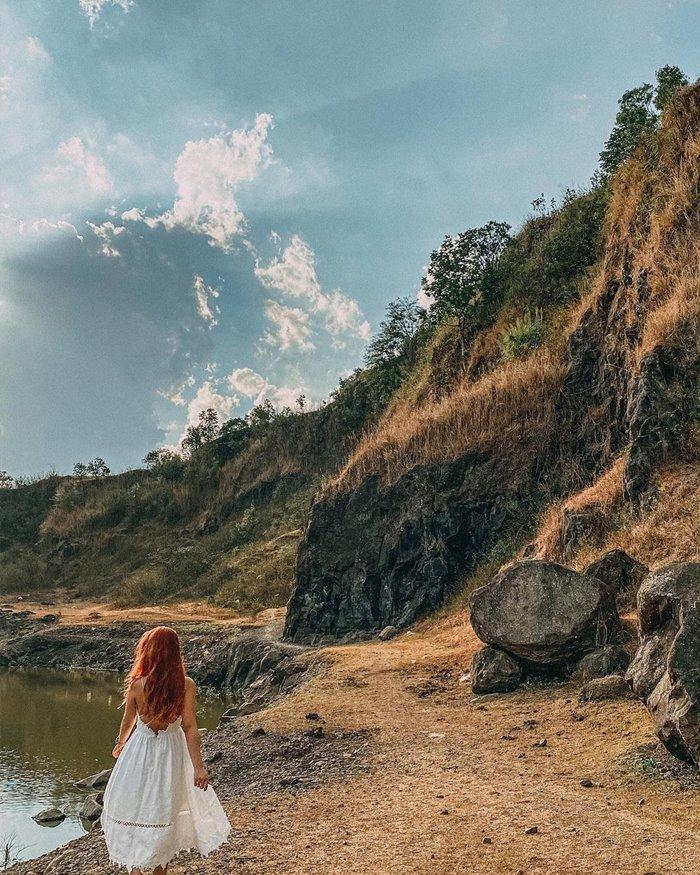 Hồ nước núi đá Pleiku