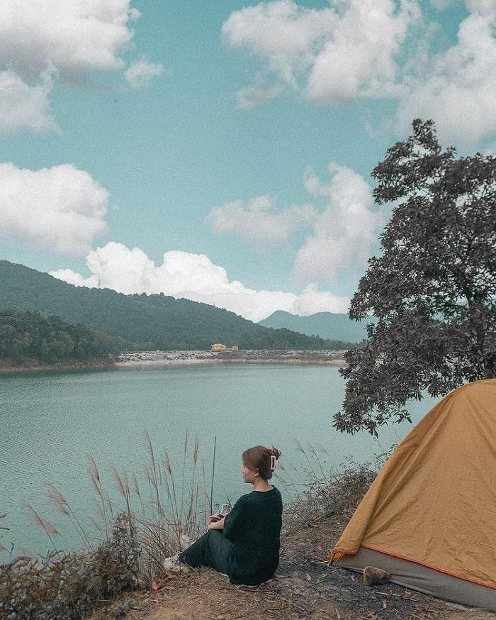 núi Hàm Lợn -  địa điểm picnic ở Hà Nội hot hit